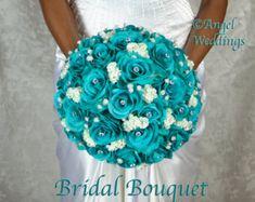 Love OCEANA BLUE Wedding Bridal Groom Wedding by Angelweddings