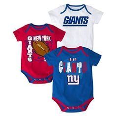 New York Giants Baby Jersey Team Apparel cfb4fc93d