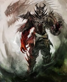 Demon Warlock by Maclq.deviantart.com on @deviantART