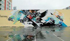 hueman mural - Pesquisa Google