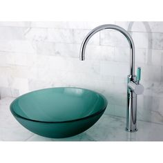 Kingston Brass Designer Glass Vessel Sink (Glass), Green, Size Under 10