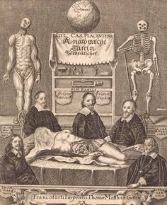 Anatomists and the cadaver. National Library of Medicine. Frankfurt, Giulio Casserio (ca. Anatomy Drawing, Anatomy Art, Human Anatomy, Anatomy Models, Danse Macabre, Vintage Medical, Medical History, Anatomy And Physiology, Rembrandt