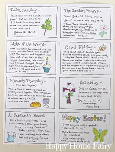 The Joy Journey - Christ-Centered Easter Activities (FREE Printable) - Happy Home Fairy Jesus The Joy Journey - Christ-Centered Easter Activities (FREE Printable) - Happy Home Fairy activities for toddlers religious Holy Week Activities, Easter Activities For Kids, Easter Story For Kids, Easter Story For Preschoolers, Easter Story Bible, Preschool Activities, Easter Stories, Easter Games, Church Activities