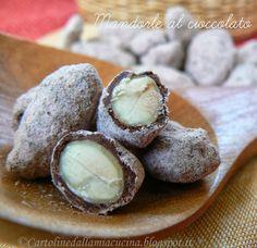 """Cartoline dalla mia Cucina: Mandorle al Cioccolato da """"Patisserie"""" di Felder"""