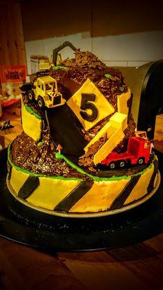 Fadenspiel: Baustellen-Torte