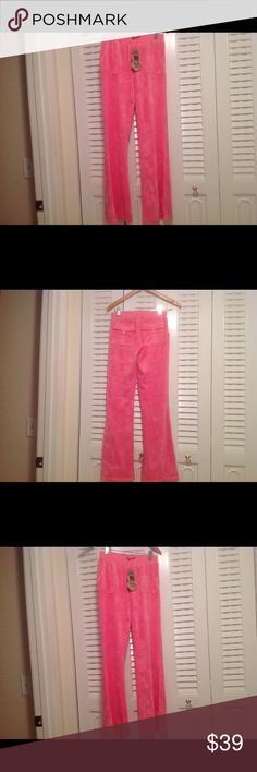 Brand New Juicy Couture pink sweat pants Adorable, flawless pink juicy couture sweat pants. Flawless!!! Juicy Couture Pants