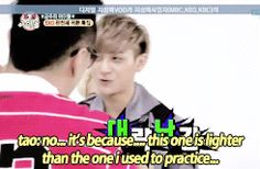 Tao's special talent: Making excuses 4/10