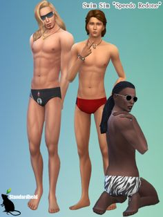 When Mum's mr speedo strip swim swimsuit thong tightie tighty wear