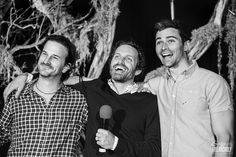 Richard Speight Jr, Rob Benedict and Matt Cohen, Saturday, Salute to Supernatural Burbank 2014