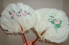 1000 Images About Antique Hand Fans On Pinterest Hand