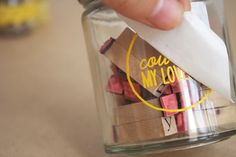 decals on jars... why didn't I think of this??