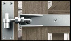 Heavy Duty Gate Hardware Decorative Handles and Pulls