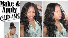 thechicnatural clip ins - YouTube
