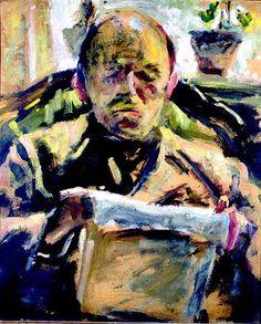 Emil Filla: Čtenář (1907)