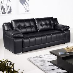 Bon Black Leather Sofa Sale; Get Your Dream Affordable Leather Sofa
