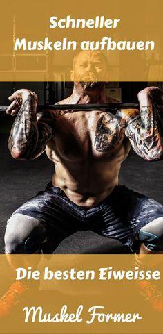 Erfahre die besten Eiweissquellen für den Muskelaufbau!