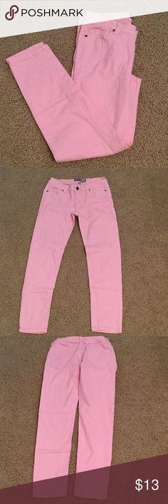 Selling this Baby Pink Iris Jeans in my Poshmark closet! My username is: taylorbernier07. #shopmycloset #poshmark #fashion #shopping #style #forsale #Iris Jeans #Denim
