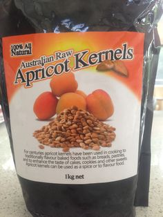 Raw Apricot Kernels - contain Vit. B17 which kill cancer cells leaving normal…