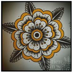 24 Ideas tattoo geometric flower rose ink for 2019 Hand Tattoos, Elbow Tattoos, Girl Tattoos, Tattoos For Guys, Skull Tattoos, Sleeve Tattoos, Mandalas Painting, Mandalas Drawing, Design Tattoo