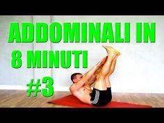 Addominali Allenamento in 8 minuti: Programma #3 Superset - YouTube