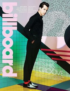 Mark Ronson stars new cover Billboard magazine  Photographed by Chris Floyd
