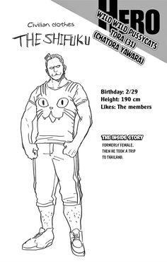 Character info: Tora