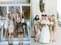 mariage, robe de mariée, pailette, sequin, demoiselle d'honneur