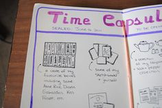 journal prompt: what would you put in your time capsule?