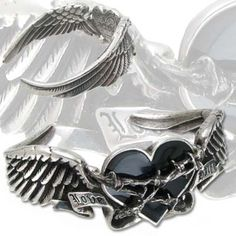 Black Romance - Gothic Bangle by Alchemy (Large) Alchemy, Heavy Metal, Gothic Store, Bangle Bracelets, Bangles, Swarovski, Anklet Jewelry, Jewelry Necklaces, Romance