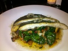 #Trout from The Bailey Pub & Brasserie.