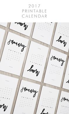 how to make your own printable calendar free printable planner