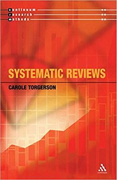 Systematic reviews / Carole Torgerson Movie Posters, Movies, Recommended Books, Psicologia, 2016 Movies, Film Poster, Films, Popcorn Posters, Film Books