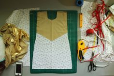 How to Make a Jingle Dress | ... began with the cones, which are used to create the rows of jingles