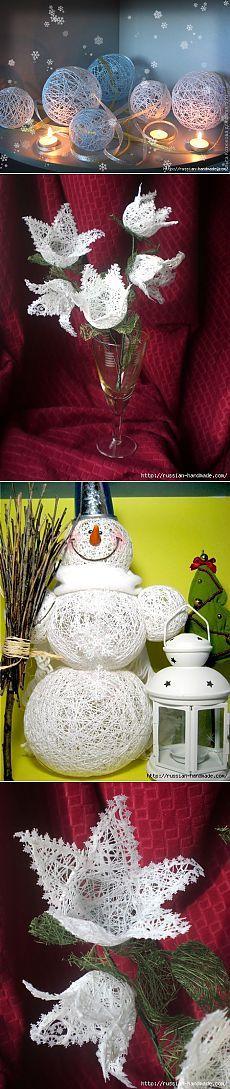 Новогодняя красота из ничего! (2 мастер-класса) | ЖЕНСКИЙ МИР