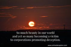 Help stop deception one person at a time!