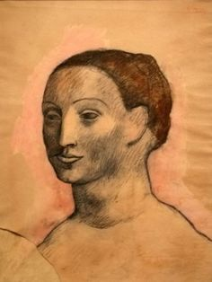 Head of a woman, 1906
