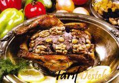 Tavuk Levengi (Azerbaycan Mutfağı) Levengi Tarifi İçin Malzemeler  1 bütün tavuk 2 adet orta boy soğan 150-200 gr ceviz 1 kase erik marmelatı ya da nar ekşisi 1 tatlı kaşığıpbul biber 1 çay kaşığı karabiber tuz sıvı yağ