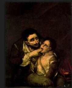 Exorcisme  Francisco Goya