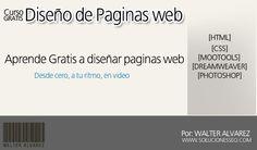 tutoriales diseño de paginas web