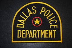 Dallas Police Patch, Dallas County, Texas (Current Issue)