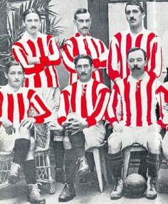 Camiseta del Athletic en 1910