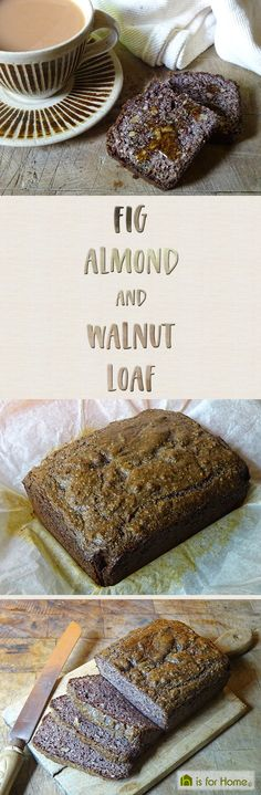 #glutenfree #sugarfree & delicious! Try this fig, almond & walnut loaf #recipe that I borrowed from @rivercottagehq