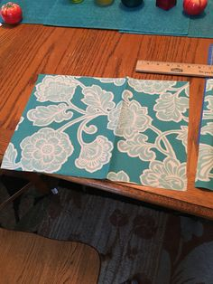 8. Cut 2 pockets 11x15 (or size you need)