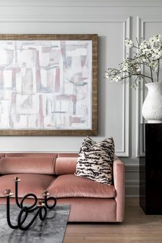 House tour: a jewellery designer's New York apartment complete with a millennial pink couch