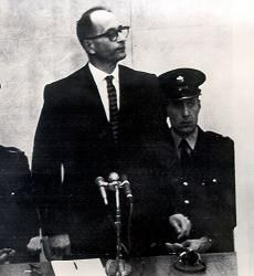 Adolf Eichmann on trial in Jerusalem - 11-4-1961