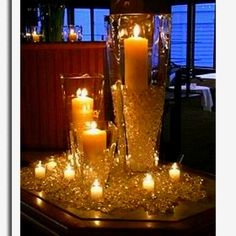 Beautiful center piece idea