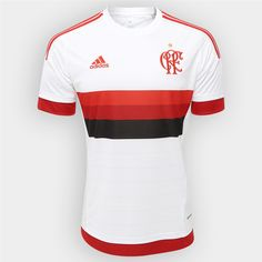 ebae2f6708 Camisa Flamengo II 15 16 s nº - Torcedor Adidas Masculina - Compre Agora