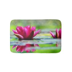 #Lily of the Water Bathroom Mat - #giftideas #teens #giftidea #gifts #gift #teengifts