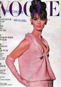 Jean Shrimpton  VOGUE cover, thanks Trina B board.