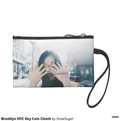 Brooklyn NYC Key Coin Clutch Coin Wallet  #zazzle #pouch #pouchdesign #brooklyn #photography #nycphotographer #portraitphoto #portraiture #brooklynphoto #shinygirl #cosmepouch #pencase #nycartist #japanese #JapanesePhotography #JapanesePhotographer #snowsugarvideo